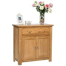small cabinet with drawers waverly oak 2 door 1 drawer small sideboard in light oak compact