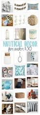nautical home decor under 30 domestically speaking