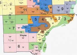 Novi Michigan Map by Updated Sign Petitions To End Gerrymandering At These Locations