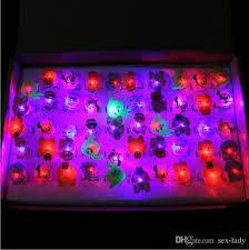 led light up toys wholesale 2018 wholesale finger ring finger light up toy soft pvc birthday