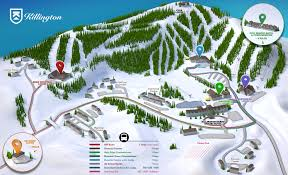 Map Of Colorado Ski Resorts by Killington Welcome To The Beast