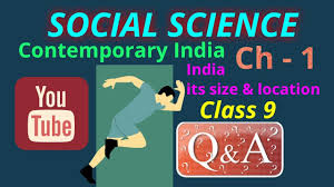 social science chapter 1 class 9 question u0026 answers cbse hindi