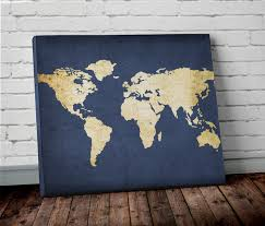Large World Map Canvas by World Map Canvas Large World Map Canvas World Map Canvas Large