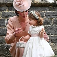george and charlotte at pippa middleton u0027s wedding pictures