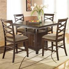 contemporary counter height table ashley furniture hayley 5 piece contemporary counter height dining