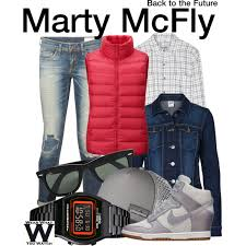 marty mcfly costume inspired by michael j fox as marty mcfly in the back to the future