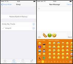 get ios 10 2 emoji on your jailbroken ios 9 device