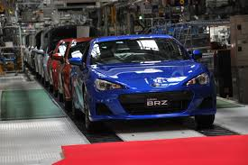 brz toyota subaru brz and toyota gt enters production nafterli u0027s car world