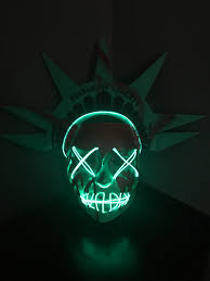 party city halloween purge masks lady liberty mask inspired by the purge election year