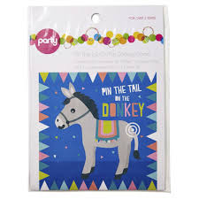 pin the tail on the donkey game kmart
