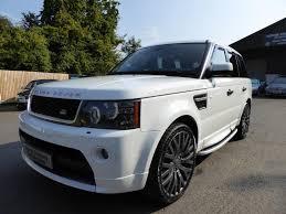 range rover sport white used 2011 land rover range rover sport tdv6 hse luxury hst