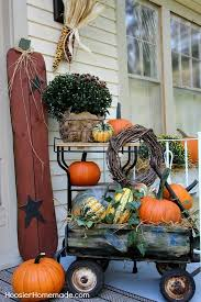 Outdoor Decorations For Fall - best 25 fall wagon decor ideas on pinterest wheelbarrow wheels