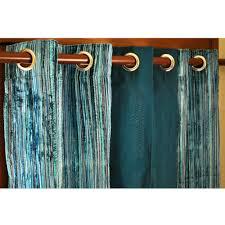 velvet pin stripes and peacock green silk panels