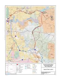 Glendale Arizona Map by Draft Eis Navajo Generating Station U2013 Kayenta Mine Complex
