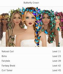 unlock covet fashion hairstyle covet fashion hair accessories butterfly crown covet