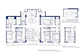 Cote D Azur Floor Plan by Parque Towers At St Tropez Sunny Isles Beach