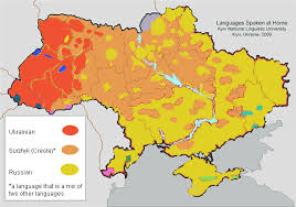map in language from russification to ukrainisation a survey of language politics