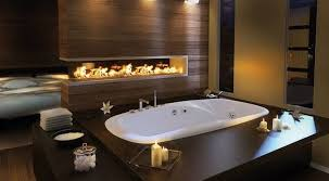 bathroom idea pictures master bathroom idea with built in fireplace by pearl