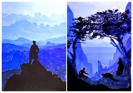 Monochromatic - monochromatic landscape painting molesky u0027s studio in art