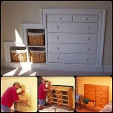 Design Your House Finished Built In Knee Wall Cabinetry Handy Man Father And Walls