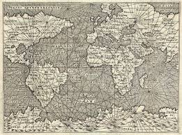antique map world antique map porcacchi world
