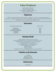 Resume Samples For Waitress by Waitress Or Hostess Resume Template Resume Templates And Samples