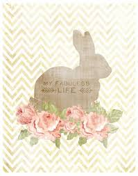 Easter Bunny Decorations Printable by 91 Best Rabbit Images On Pinterest Rabbits White Rabbits And