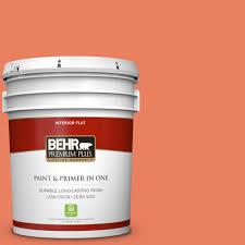 interior paint home depot behr premium plus 5 gal white flat ceiling interior paint 55805