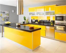 cuisine moderne jaune déco cuisine jaune et orange decoration guide