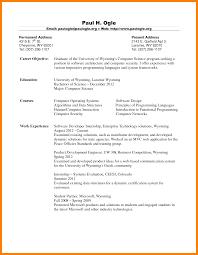 Example Of Resume For Fresh Graduate Sample Resume Computer Science Fresh Graduate Augustais