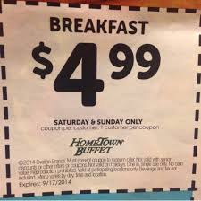 Hometown Buffet Coupons Printable by Breakfast Coupons Rock And Roll Marathon App