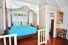 bed and living coral bay vacation villa sago cottage calabash cottages