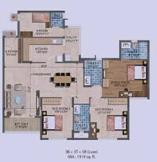 Air Force One Layout Floor Plan Floor Plans Purva Westend Hosur Main Road
