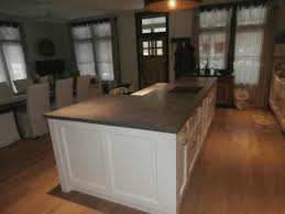 countertop for kitchen island verdicrete concrete countertops brooks custom