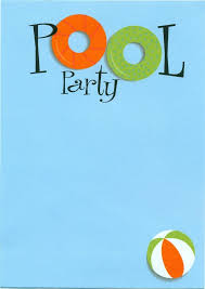pool party invitations pool party invitation template marialonghi