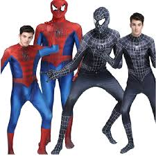 Premium Quality Halloween Costumes Compare Prices Black Spiderman Costume Shopping Buy