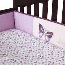 Lavender And Grey Crib Bedding Lavender Butterfly Crib Bedding