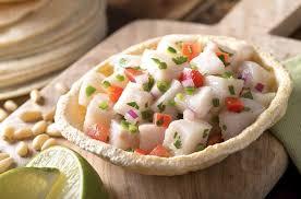 recette de cuisine mexicaine facile ceviche de poisson à la mexicaine recette az