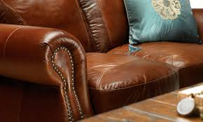 Furniture Leather Sofa Brandy Leather Sofa Haynes Furniture Virginia U0027s Furniture Store