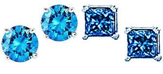 blue diamond stud earrings e diamond oceanic collection blue diamonds blue diamond rings