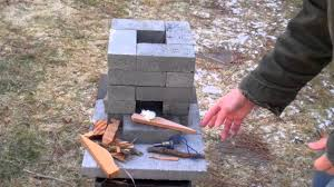 How To Make A Brick Patio by How To Build A Better Brick Rocket Stove For 10 Youtube