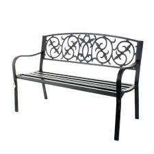 decorative outdoor benches benches decorative metal garden benches