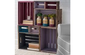 Folk Art Home Decor Chalk Plaid Folkart Home Décor Chalk Diy Wood Crate Shelf Unit A C Moore