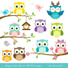 cute happy halloween clip art happy owls clip art digital owls clipart cute owls clipart