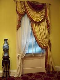 Swag Curtains For Dining Room 110 Best Swags Images On Pinterest Window Treatments Curtains