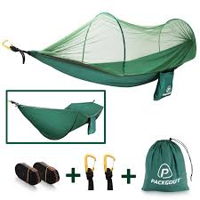 mosquito hammock packgout camping hammock with mosquito net