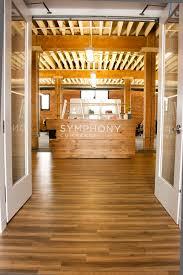 Reception Desk Wood by Reclaimed Oak Reception Desk Bay Area Custom Furniture