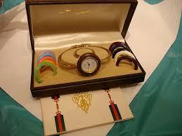 bangle bracelet watches images Authentic gucci 1100 l bangle bracelet watch with 12 bezels item jpg