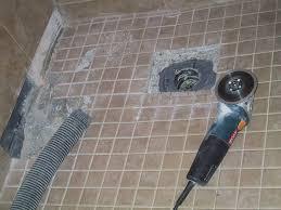 installing tile shower floor houses flooring picture ideas blogule