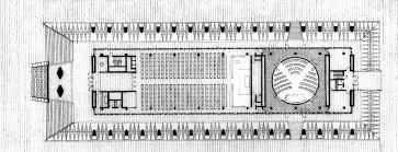 Chapel Floor Plans And Elevations Ad Classics Usafa Cadet Chapel Walter Netsch Of Skidmore